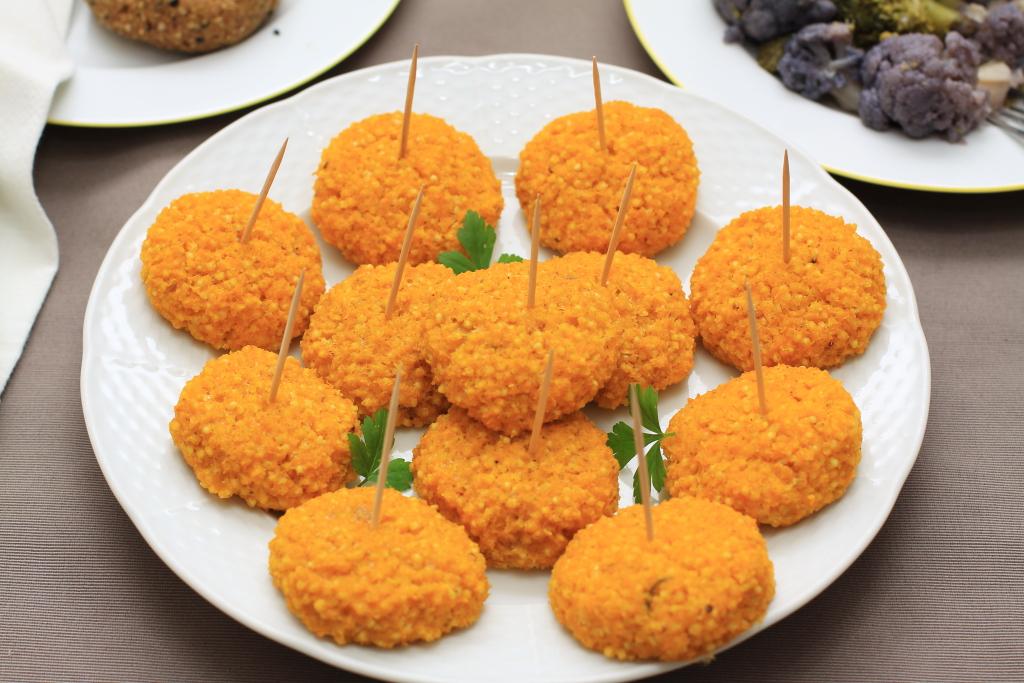 Glutenfreie Polpette (Bällchen) aus Hirse & Kürbis