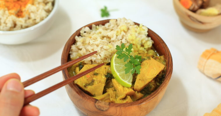 Balinesisches Jackfruit-Curry